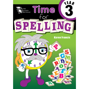 Time for Spelling Year 3