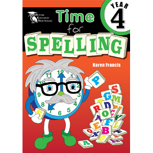 Time for Spelling Year 4