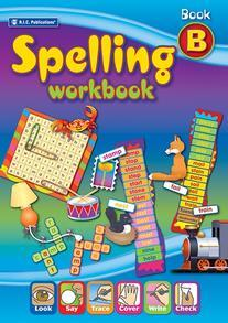 Spelling Workbook Interactive Book B Ages 6-7 - RIC-6338