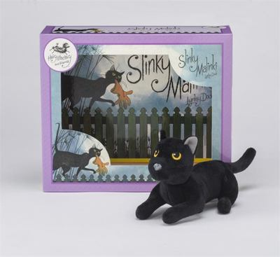 Slinky Malinki Book and Soft Toy