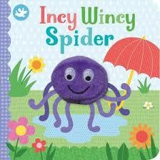 Incy Wincy Spider (Finger Puppet Book)