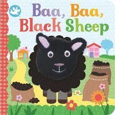 Baa Baa Black Sheep (Finger Puppet Book)