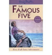 Five Fall into Adventure (Famous Five #9)