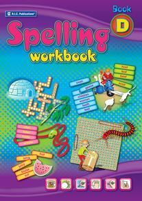 Spelling Workbook interactive Book D Ages 8-9 - RIC-6340