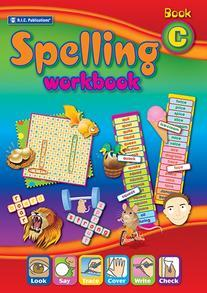 Spelling Workbook interactive Book C Ages 7-8 - RIC-6339