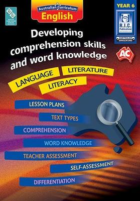 Large 87952 developing comprehension skills and word knowledge language literature literacy year 6
