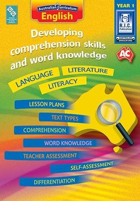 Large 87942 developing comprehension skills and word knowledge language literature literacy year 1