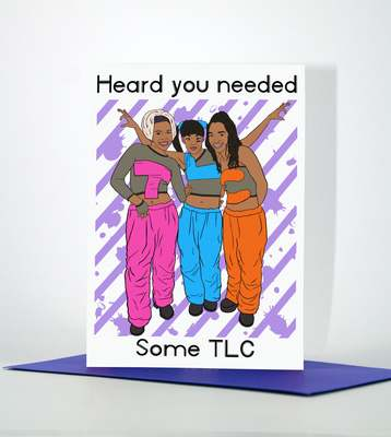 TLC any occasion greeting card
