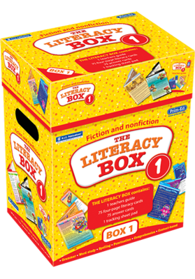 The Literacy Box 1 Ages 5—7 RIC-6930