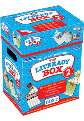 The Literacy Box 2 Ages 8—10 RIC-6931