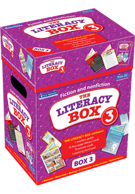 The Literacy Box 3  Ages 11+ RIC-6932