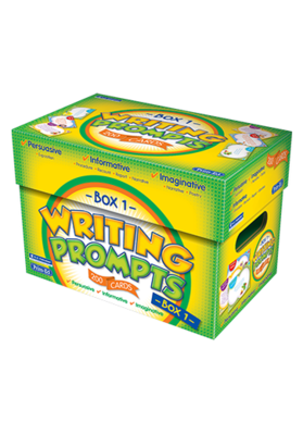 Writing Prompts Box 1 Ages 5—7 RIC-6933