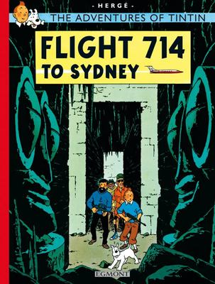 Flight 714 to Sydney (Tintin #22)