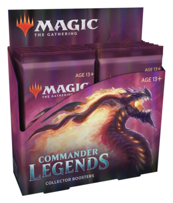 Commander Legends Collector Booster Box Preorder