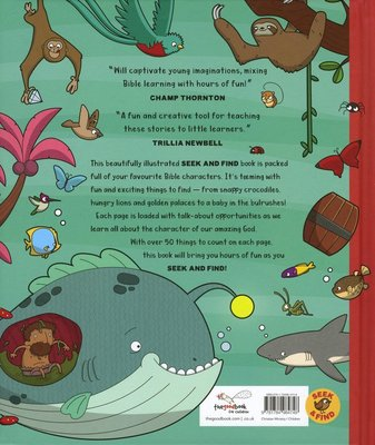 Seek and Find: Old Testament Bible Stories - With over 450 Things to Find and Count!