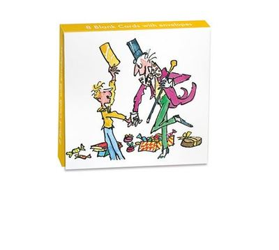 Charlie and the Chocolate Factory Mini Notecard