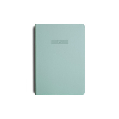 2021 MiGoals Diary Weekly+Notes A5-Soft Cover - Mint
