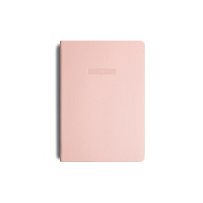 2021 MiGoals Diary Weekly+Notes A5-Soft Cover - Soft Pink