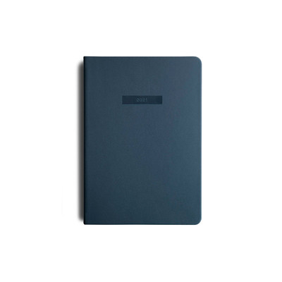 2021 MiGoals Diary Weekly A5-Soft Cover - Navy