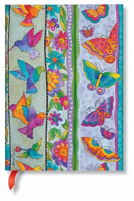 Paperblanks Journal - Hummingbirds & Flutterbyes (Midi Lined)