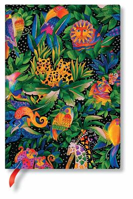 Paperblanks Journal - Jungle Song (Midi Lined)