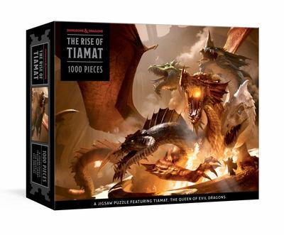 The Rise of Tiamat Dragon Puzzle (Dungeons & Dragons) - 1000-Piece Jigsaw Puzzle Featuring the Queen of Evil Dragons: Jigsaw Puzzles for Adults