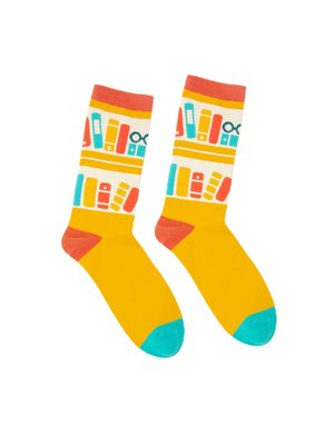 Bookshelf Socks - Small
