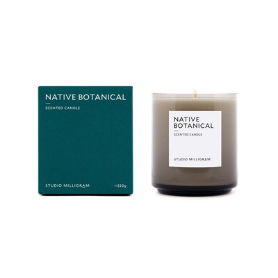 Scented Candle 220g Native Botanical
