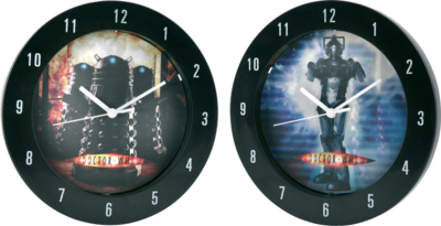 Doctor Who - Lenticular Wall Clock