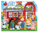 LETS GO TO THE FARM FISHER PRICE LITTLE PEOPLE LIFT THE FLAP