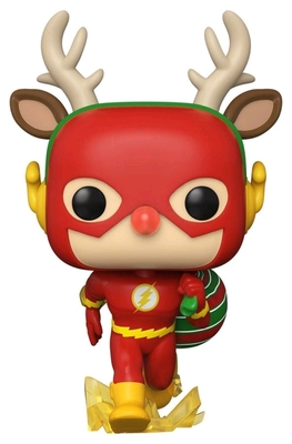 Flash Rudolph Holiday Pop! Vinyl - The Flash
