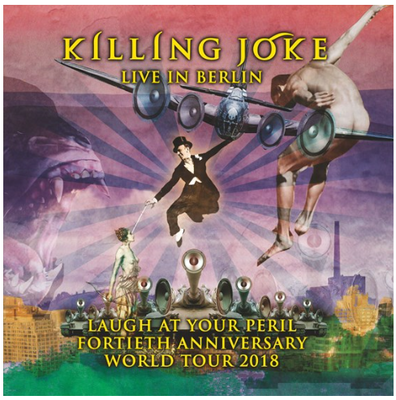 Laugh At Your Peril - Killing Joke (live in Berlin 3LP - neon pink vinyl)