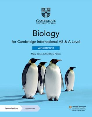 Cambridge International AS and a Level Biology Workbook with Digital Access (2 Years)
