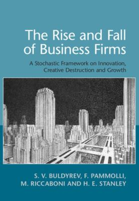 The Rise and Fall of Business Firms - A Stochastic Framework on Innovation, Creative Destruction and Growth