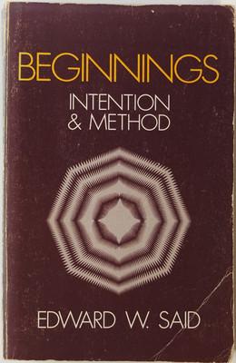 Beginnings - Intention and Method