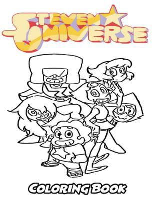 Steven Universe Coloring Book - Coloring Book for Kids and Adults, Activity Book with Fun, Easy, and Relaxing Coloring Pages