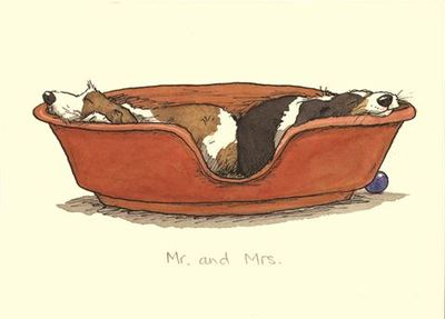 Card - Mr and Mrs TBMM27