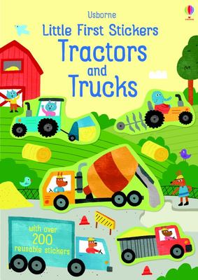 Little First Stickers: Tractors and Trucks