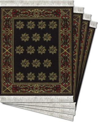 Country Heritage Stars Coaster Rugs