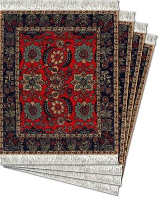 Pashmina Flowers Coaster Rugs