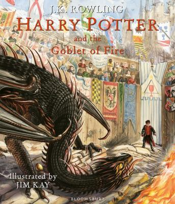 Harry Potter and the Goblet of Fire  (#4 Illustrated Edition HB)