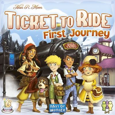 Ticket to Ride First Journey (Europe)
