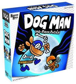 Dog Man & Cat Kid 100pc Puzzle