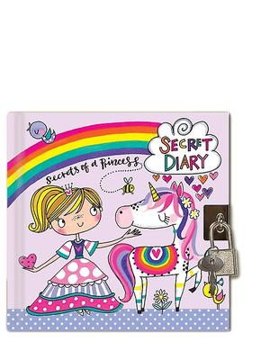 Secrets of a Princess Lockable Diary