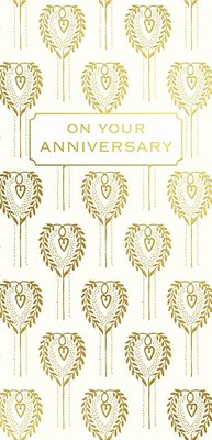 Card - On Your Anniversary ANF089