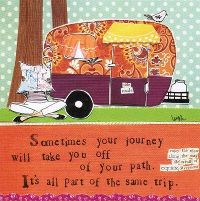 Card - Sometimes your Journey (CG-SQLP38)