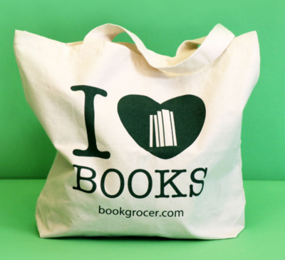 Book Grocer Calico Bag