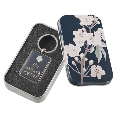 Keyring in Tin