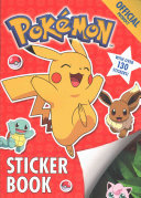 The Pokemon Sticker Book (Official)