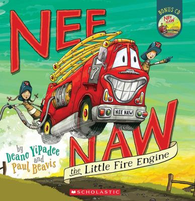 Nee Naw the Little Fire Engine (Book & CD)
